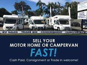 CASH PAID FOR YOUR CAMPERVAN OR MOTORHOME Tweed Heads South Tweed Heads Area Preview