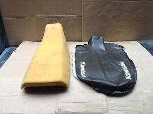 KLR650 Seat Cover and Foam