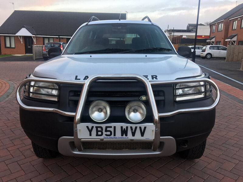Land Rover Freelander 2.0 TD4 GS S WAGON (silver) 2002