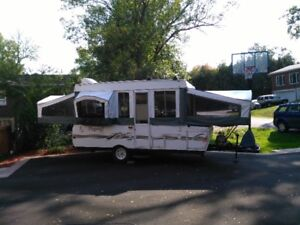 Flagstaff 2002 – $3,200 or exchange for smaller lighter camper