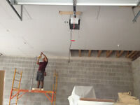 Drywall finisher,Boarding,Taping,Texturing