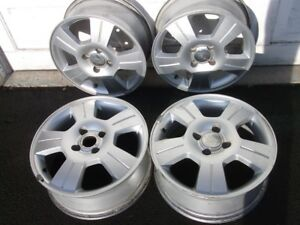 4 stud 16 inch alloy rims, came off a Ford Focus