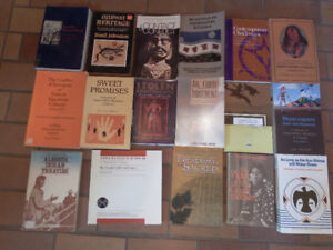 Collection of Indigineous History Books