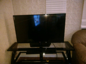 42 inch lg tv with 3 tier tv stand