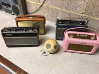 1960's Portable Radios