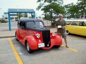 35 Chev Master Street Rod (Harley Tribute Car)