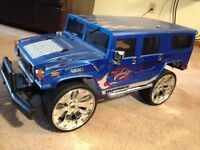 Nikko 1/6 scale Hummer RC