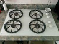 Built-in Natural Gas Counter Stove Top