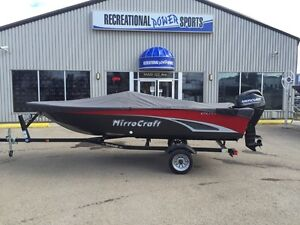 2016 MIRROCRAFT 1616-O SIDE CONSOLE WITH 30HP MERC