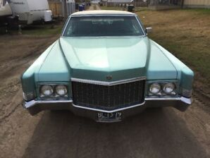 SELLING MY 1970 CADILLAC  COUPE DEVILLE