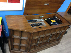 Record player stereo