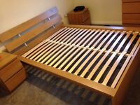 IKEA double bed - excellent condition