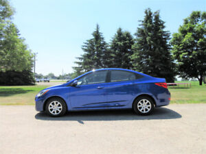 2013 Hyundai Accent GLS- ONE OWNER SINCE NEW!! CERTIFIED $49/wk
