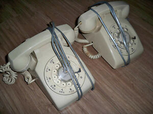 Older Rotary Dial Telephones