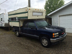 Truck & camper for sale