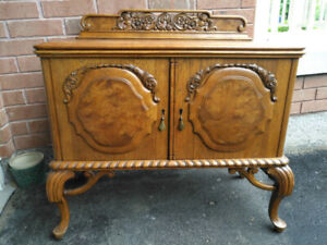 MUST GO! Refinished Antique Sideboards and China Cabinets