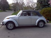 Classic Beetle Convertable