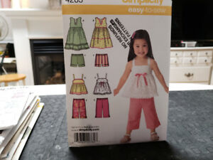 New Patterns for sewing children's clothes