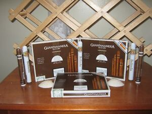 cases of cuban cigars