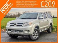 2006 Toyota Hi-Lux 2.5 D-4D Turbo Diesel Invincible 4 Door 5 Speed DC Double Cab