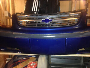 Chevy Impala Bumper Cover and front Grill