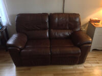 Leather Couch Sofa Loveseat Recliner Fauteuil Great Condition
