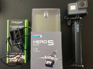 GoPro hero 5 + accessories