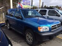 2003 Nissan Pathfinder LE((094k,))Only Safety,E test,No Rust
