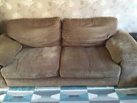 Harvey's 3 seater sofa and arm chair