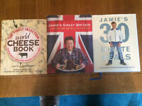 Three nearly new cookbooks