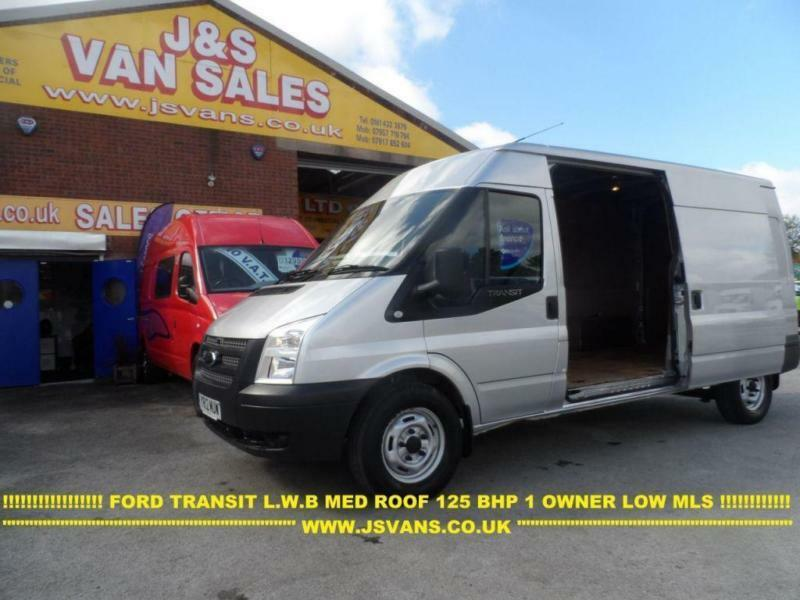 3569587455 2012 12 FORD TRANSIT 350 LWB LWB 125 BHP MED ROOF IN RELFEX SILVER 1 OWNER  LOW M