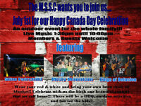 The MSSC's Happy Canada day Party