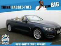 2014 BMW 4 Series 430D LUXURY Auto Convertible Diesel Automatic