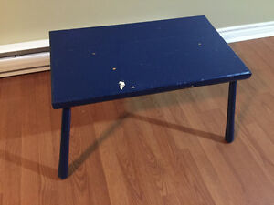 Blue Coffee or End Table