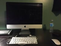 iMac 21 inch with box and peripherals