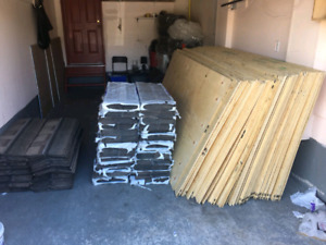 quarter inch plywood sheets ,two tone brand new shingles for roo