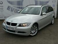 2007 BMW 3 SERIES 318D SE TOURING DIESEL FULL SERVICE HISTORY LAST AT 90K ESTATE