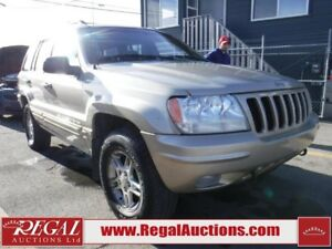 2000 JEEP GRAND CHEROKEE LIMITED 4DR 4WD LIMITED