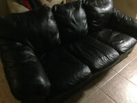 3 Piece Leather Couch Set