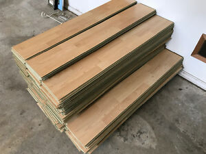 700 sf of 10mm laminate flooring
