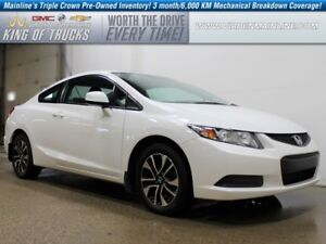 2013 Honda Civic Coupe LX | Manual Transmission | Bluetooth