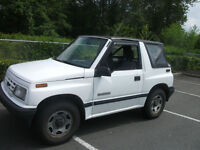1991 Chevrolet Tracker Convertible