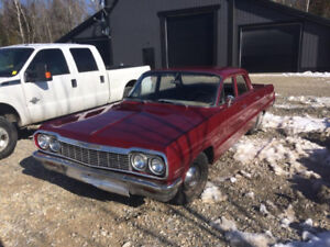 1964 Chevrolet Bel Air, 4 door for sale