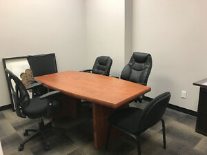 Quiet and professional shared office space for rent.