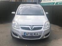 2008 Vauxhall Zafira 1.9 CDTi Elite 5dr