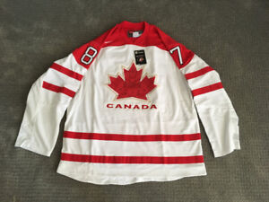 Price reduced. Crosby Olympic jersey. Autographed w/COA.