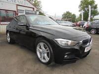 BMW 3 SERIES 320D XDRIVE S-S M SPORT 4dr Black Manual Diesel, 2013