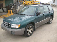 JUST IN FOR PARTS! 1998 SUBARU FORESTER @ PICNSAVE WOODOSTOCK