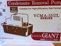 Condensate Removal Pump - New