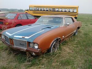 1971 CUTLASS - 1973 OLDS 88